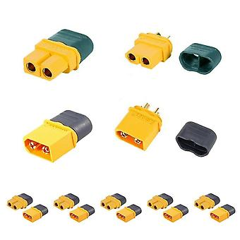 5 Pairs XT60H Male Female Bullet Connectors Plugs For RC Lipo Battery