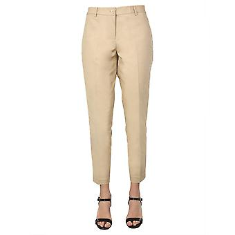 Michael Por Michael Kors Mh53f54c64250 Women's Bege Cotton Pants