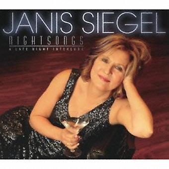 Janis Siegel - Night Songs-a Late Night Interlude [CD] Usa import