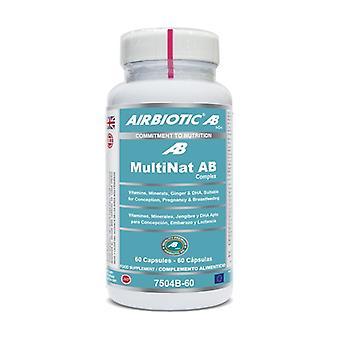 Complexe Multinat AB 60 capsules