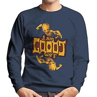 Marvel Guardians Of The Galaxy I Am Groot Symmetry Men's Sweatshirt