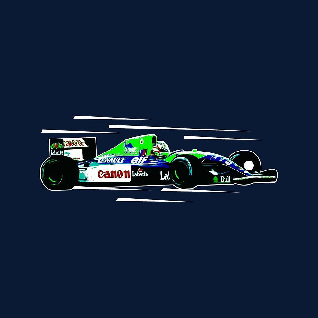 Imágenes del automovilismo Nigel Mansell FW14 en Silverstone Kid's Chaqueta Varsity