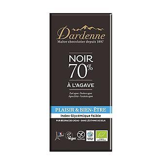 Agave 70% Dark Chocolate Bar 100 g
