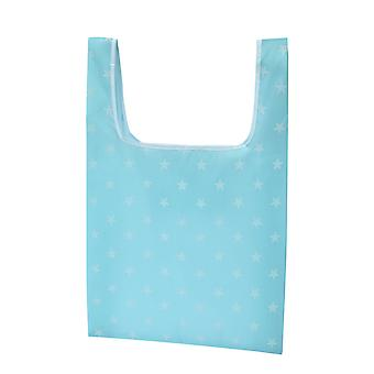 Foldable environmentally friendly and durable shopping tote bag, large durable and washable