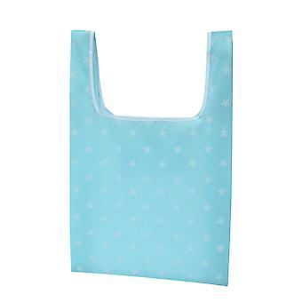 Skládací ekologicky šetrná a odolná nákupní taška, velká odolná a omyvatelná