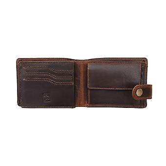 Primehide Mens Leather Wallet RFID Blocking 1958/2
