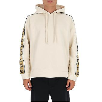 Gucci 596230xjbuw9230 Men's White Cotton Sweatshirt