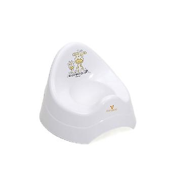 Cangaroo Potty Giraffe 7552 in white, modern, universal shape, from 12 months