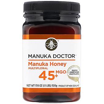 Manuka Doctor, Manuka Honey Multifloral, MGO 45+, 1,1 lb (500 g)