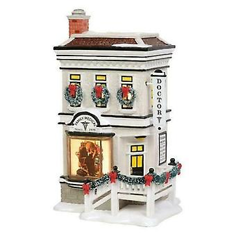 Rockwell's Doctor's Office Department 56 Snow Village New 2019