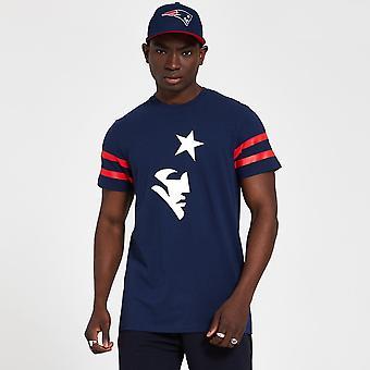 Neue Ära Nfl New England Patriots Logo Elemente Marine T-shirt