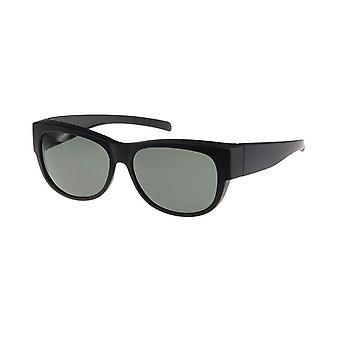 Sunglasses Unisex black with grey lens VZ0023A