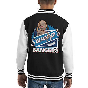 Sooty Sweep's Bangers Kid's Varsity Jacket