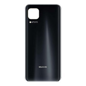 Vervangende batterijhoes voor Huawei P40 Lite Back Cover - Zwart