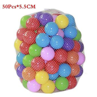 Eco-friendly Colorful Pits Soft Plastic Ocean Ball Transparent Water Ocean Wave Ball Toys For Children Kid Baby