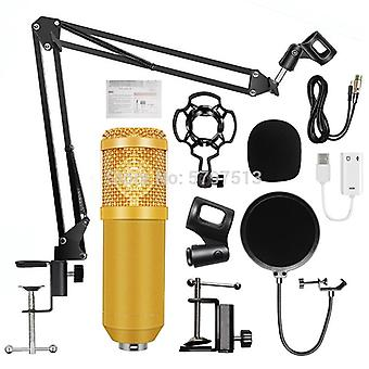 Bm 800 Studio Recording Condenser Podcast Microphone Kit For Pc Computer