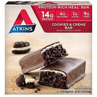 Barre repas Atkins Cookies Creme N