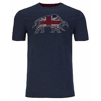 RAGING BULL Raging Bull Logo T Shirt