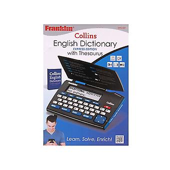 Collins English Dictionary with Thesaurus (Model No. DMQ221)