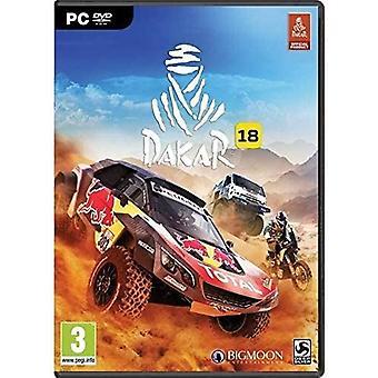 Dakar 18 PC DVD Game