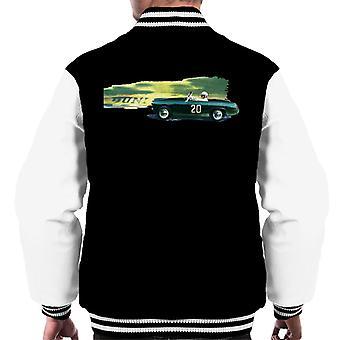 Austin Healey 20 Green British Motor Heritage Men's Varsity Jacket