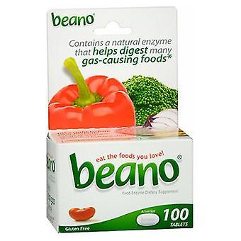 بينو الغذاء انزيم الغذائية المكملات الغذائية أقراص، 100 علامات التبويب