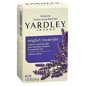 Yardley London Naturally Moisturizing Bar Soap, English Lavender 4.25 oz
