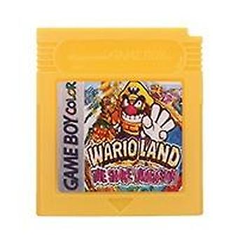 16 Bit Video Game Cartridge Console Card- Mari Donke Kong Series English Language Version For Nintendo Gbc