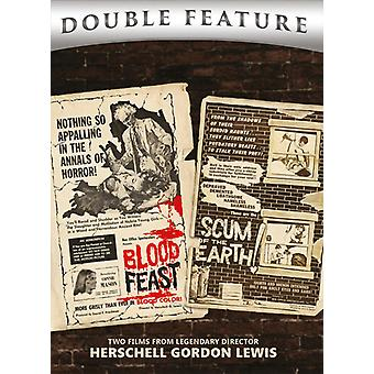 Blood Feast & Scum Of The Earth [DVD] USA import