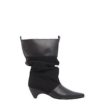 Stella Mccartney 515450w08e31000 Women's Black Polyurethane Ankle Boots