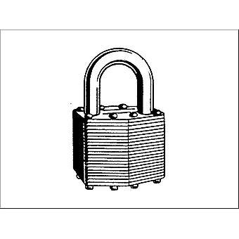 Securit Lam Padlock Brass Cylinder 30mm S1114