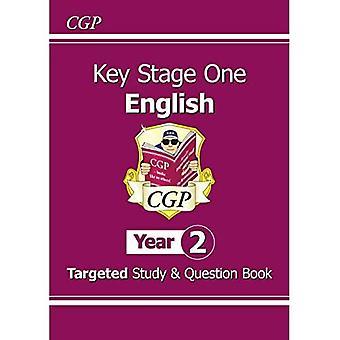 Novo KS1 estudo direcionado Inglês & livro de perguntas-ano 2