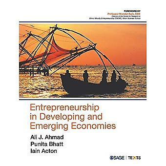 Entrepreneurship in Developing and Emerging Economies