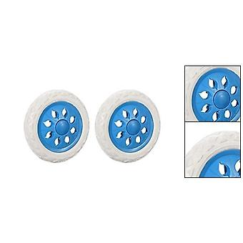 2pcs Shopping Cart Wheels- Trolley Caster Replacement