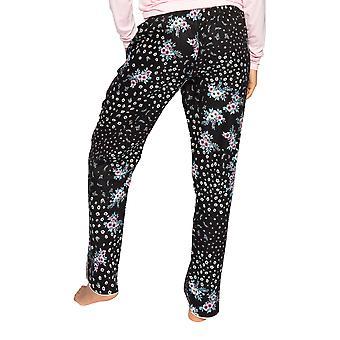 Cyberjammies Hannah 4731 Women's Black Ditsy Floral Cotton Pyjama Pant