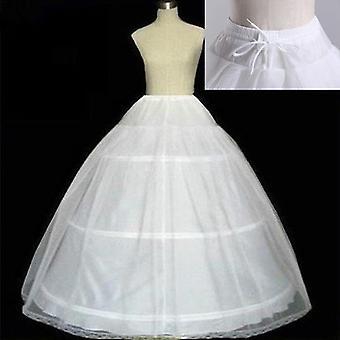 Wysokiej jakości Obręcze Petticoat Crinoline Slip Underskirt na suknię ślubną ślubne