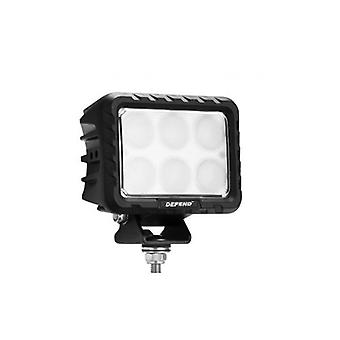 6 Inch Square Led Work Light Flood Truck Driving Lamp 4 X 4 Offroad