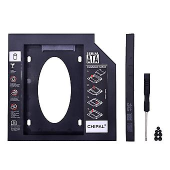 2nd Hdd Caddy 9mm 9.5mm 12.7mm Sata 3.0 For 2.5'' Ssd Case Hard Disk Drive