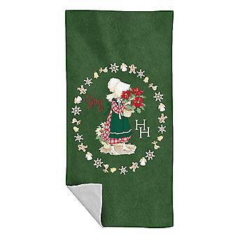 Holly Hobbie Christmas Joy Beach Towel