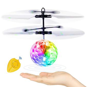 Betheaces flying ball, kids toys rc flying hover disco ball toy helicopter drone infrared induction