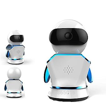 Wi-fi Cctv Monitor Wireless Mini Robot For Home Security
