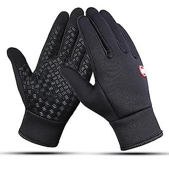 Outdoor Sports Running Glove Warm Touch Screen Finger Gloves-women