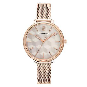 Pierre Lannier relojes de reloj de mujer 027L998 - pulsera de acero Dor rosa