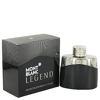 Montblanc legende Eau De Toilette Spray door Mont Blanc 1.7 oz Eau De Toilette Spray