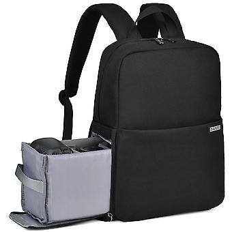 Dslr impermeable hombro portátil cámara digital mochila