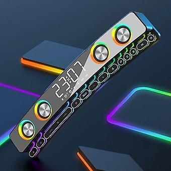 Tietokoneen kaiuttimet Bluetooth-kaiuttimien led-näytön subwoofer soundbar televisioon