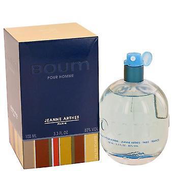 Boum Eau De Toilette Spray By Jeanne Arthes 3.3 oz Eau De Toilette Spray