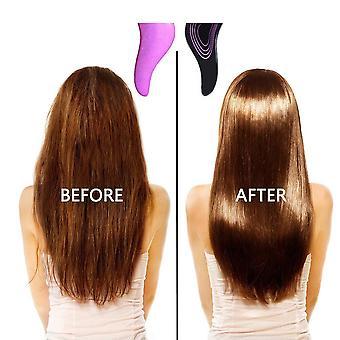 2pcs/lote Mango peine antiestático masaje cepillo de pelo enredo ducha masaje peluquería peinador peluquería peluquería herramienta de peinado
