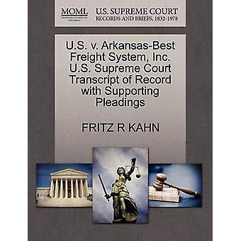 U.S. V. Arkansas-Best Freight System - Inc. U.S. Supreme Court Transc