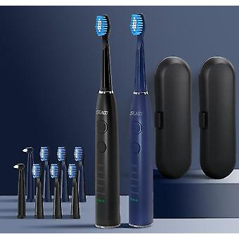 Sonic Electric Toothbrush Upgraded Adult Waterproof Usb Rechargeable Brush Head